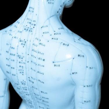 Ošetření akupunkturních bodů a drah